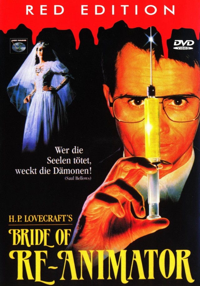 Bride of Re-Animator - Red Edition Cover