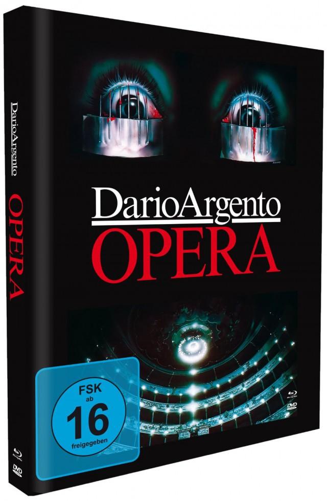 Dario Argentos Opera - Mediabook Edition Cover