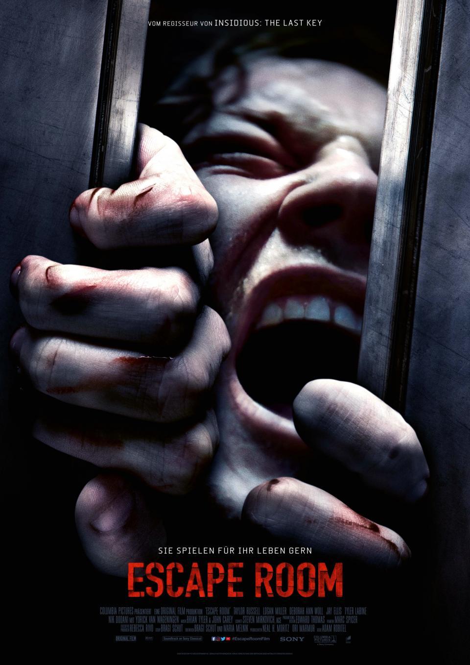 Deutsches Poster zum Survival-Horrorfilm