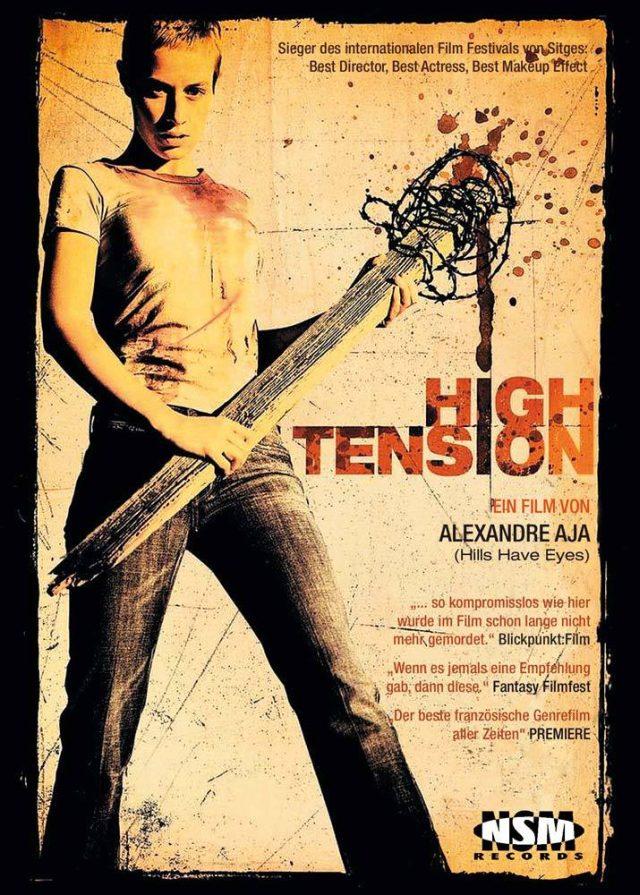 High Tension - NSM Blu-ray Vorabcover - Uncut