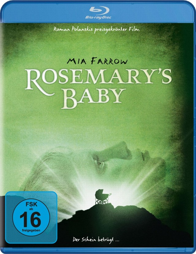 Rosemarys Baby - Blu-ray Cover FSK 16