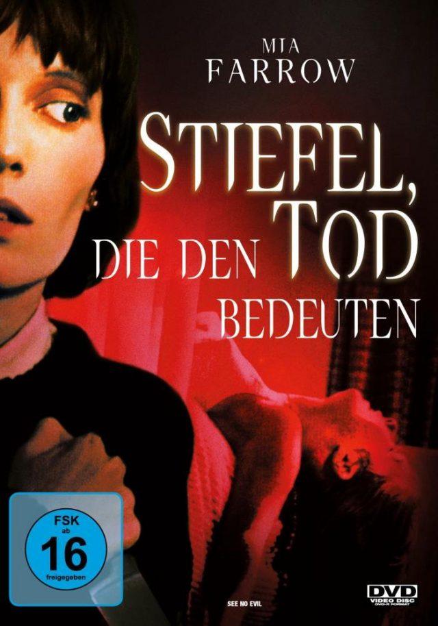 Stiefel die den Tod bedeuten - DVD Cover FSK 16