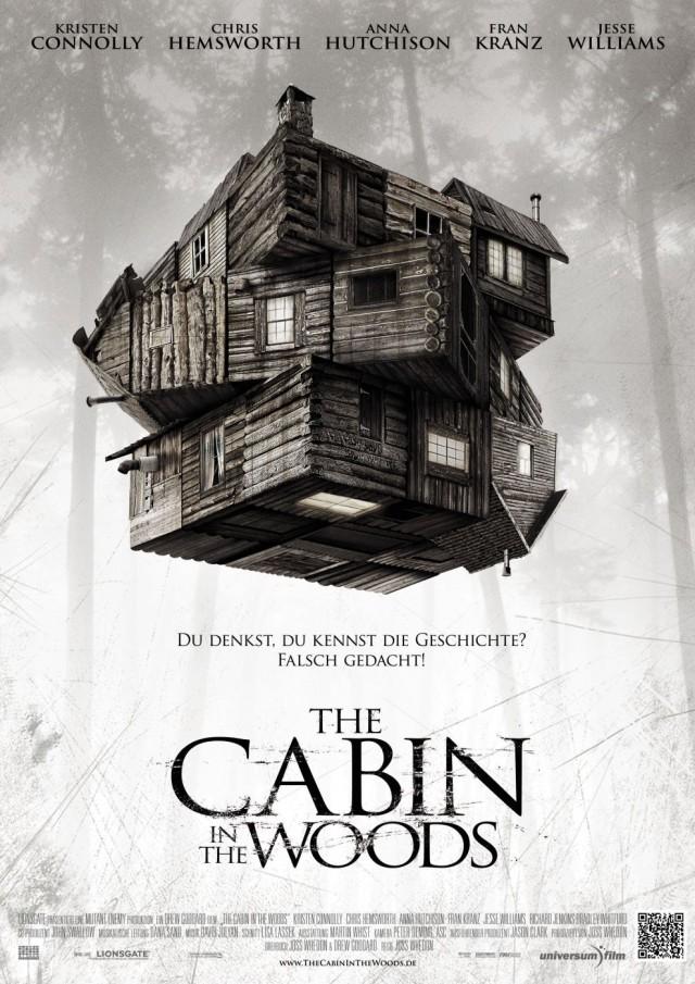 The Cabin in the Woods Deutsches Kinoplakat