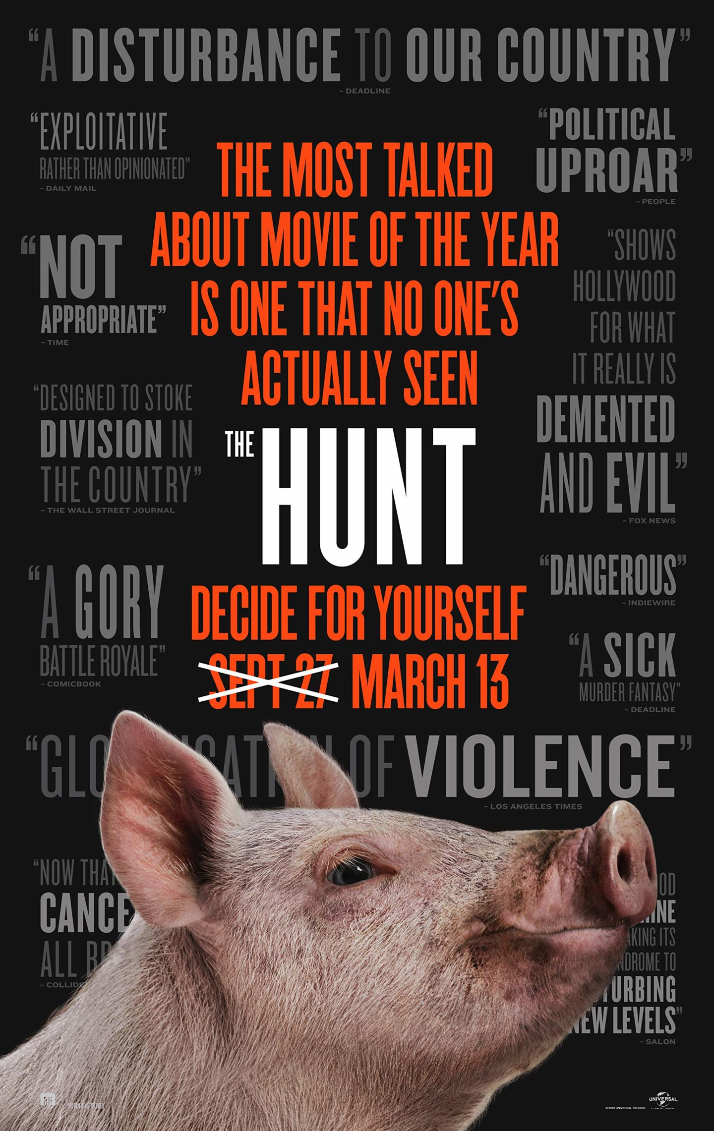 The Hunt – Teaser Poster