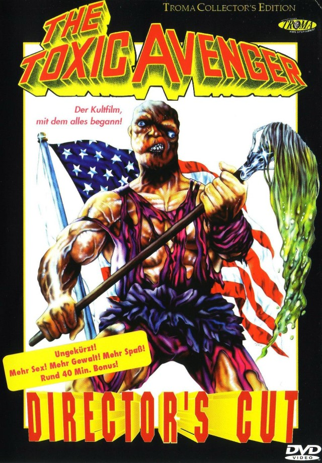 The Toxic Avenger – Cover