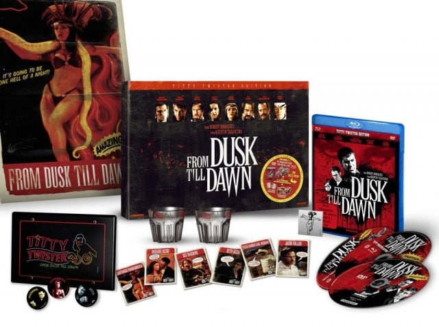 From Dusk Till Dawn UNCUT Titty Twister Edition - DVD und Blu-ray indiziert 1