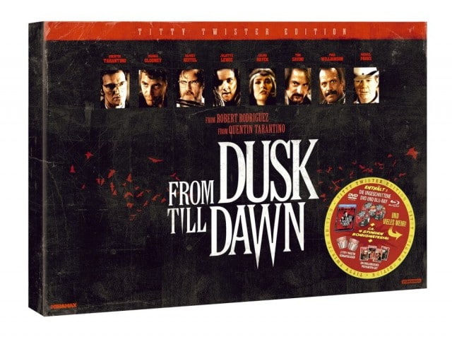 From Dusk Till Dawn UNCUT Titty Twister Edition - DVD und Blu-ray indiziert 2