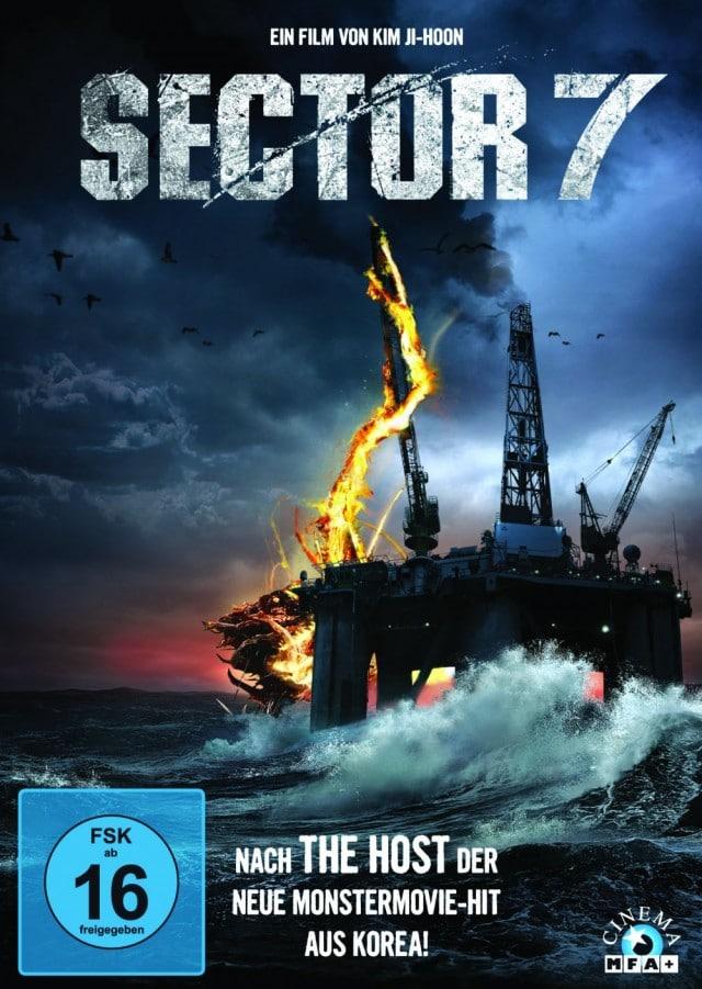 Sector 7 - DVD Cover FSK 16