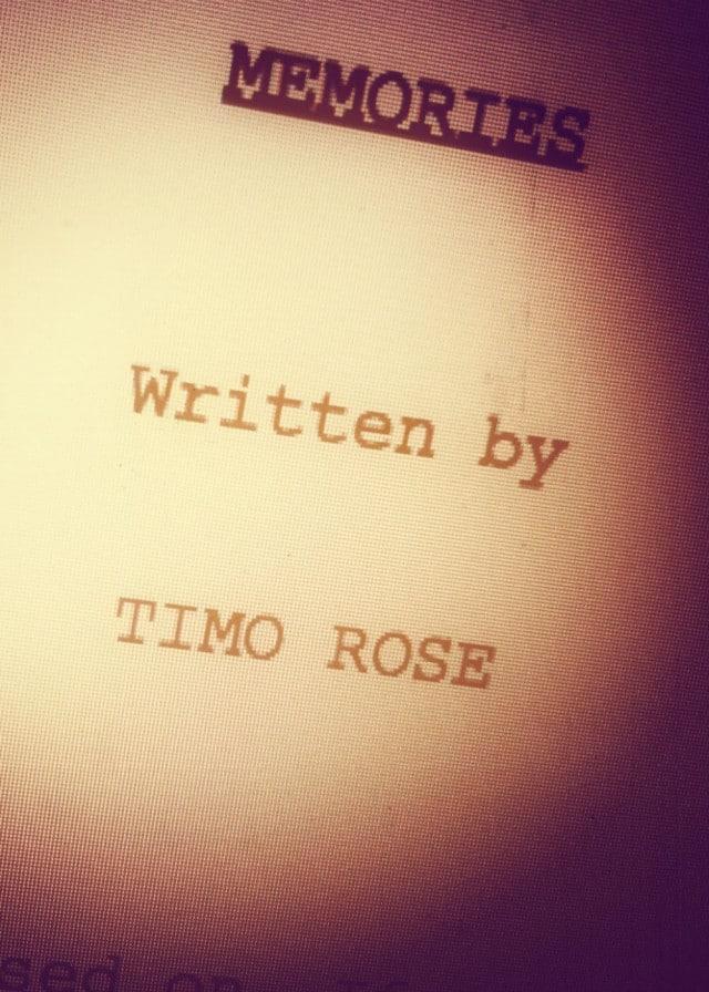 Memories Script Cover