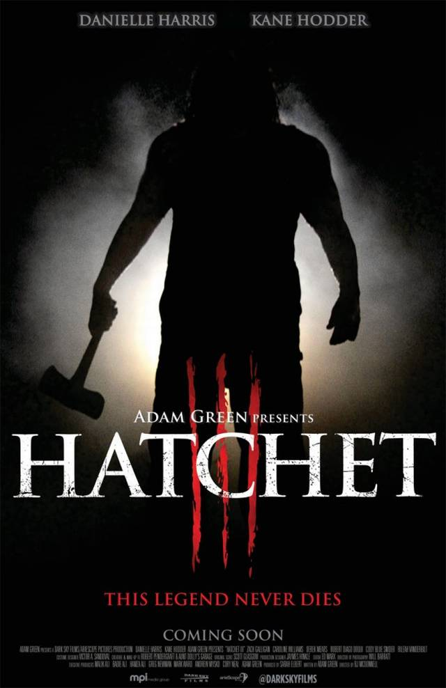 Hatchet 3 - US Teaser Poster