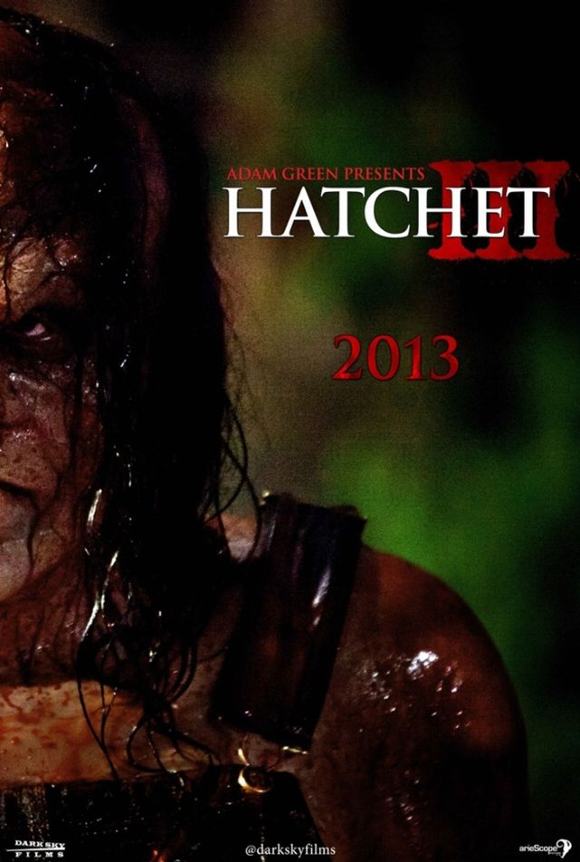Hatchet 3 US Teaserplakat