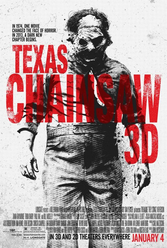 Texas Chainsaw 3D Teaser Plakat 3