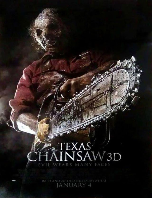 Texas Chainsaw 3D Teaser Poster