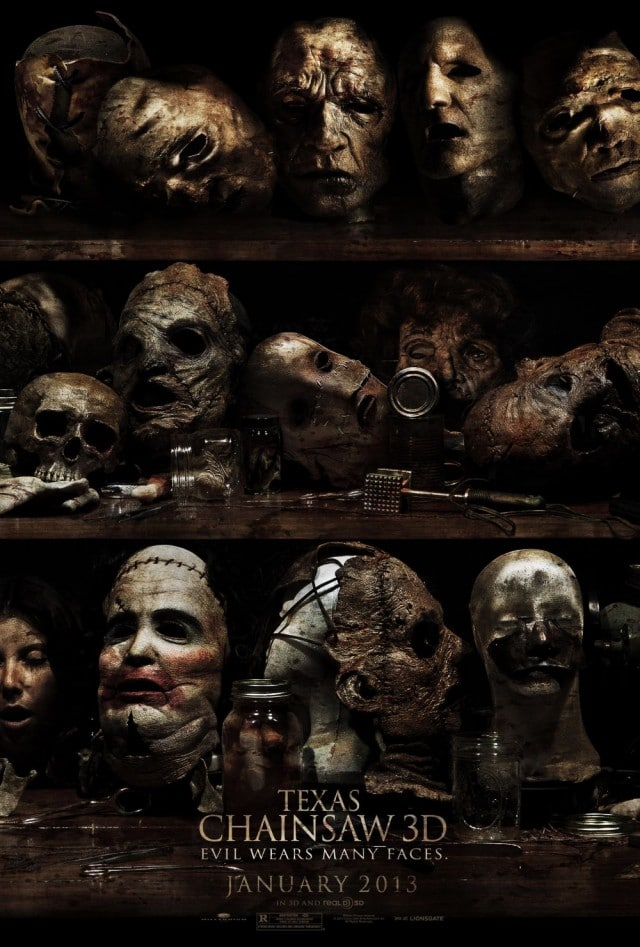 Texas Chainsaw 3D US Kino Poster