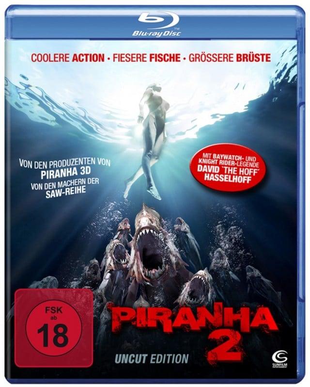 Piranha 2 3D Uncut FSK 18 Blu-ray