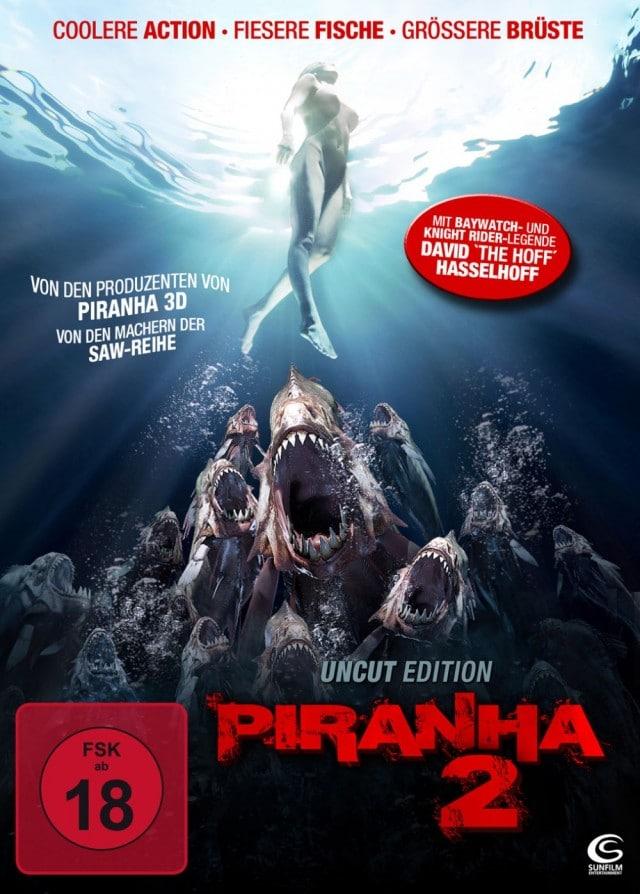 Piranha 2 3D Uncut FSK 18 DVD