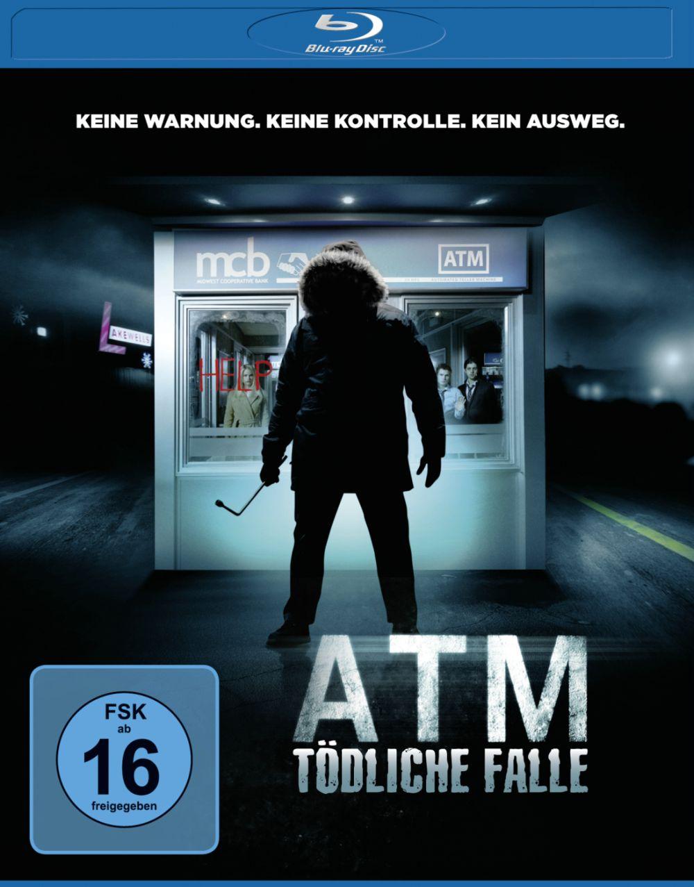 ATM Blu-ray Cover FSK 16