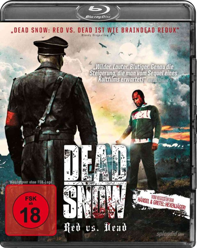 Dead Snow - Red vs Dead - Blu-ray Cover FSK 18