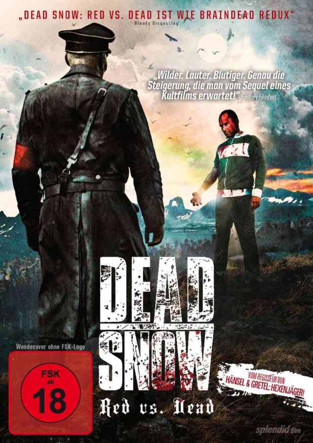 Dead Snow - Red vs Dead - DVD Cover FSK 18