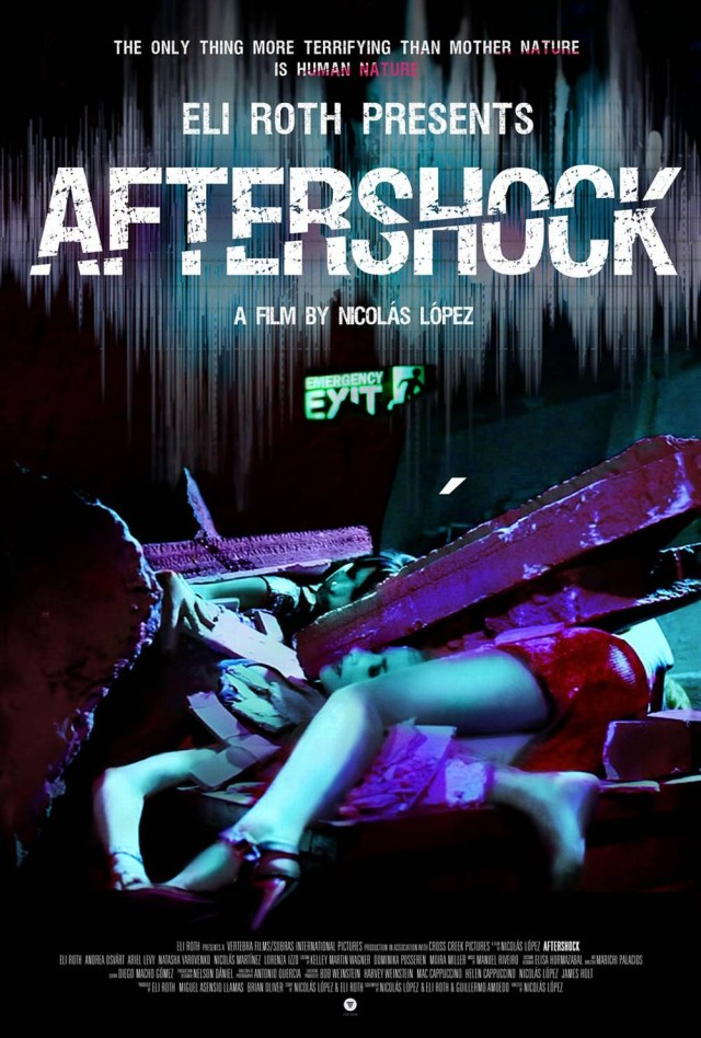 Aftershock - US Teaser Poster