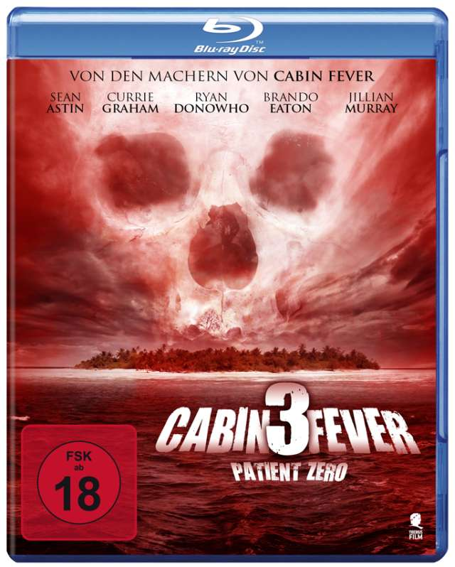 Cabin Fever 3 - Patient Zero - Blu-ray Cover FSK 18