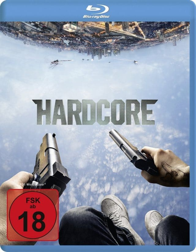 Hardcore - Blu-ray Cover FSK 18