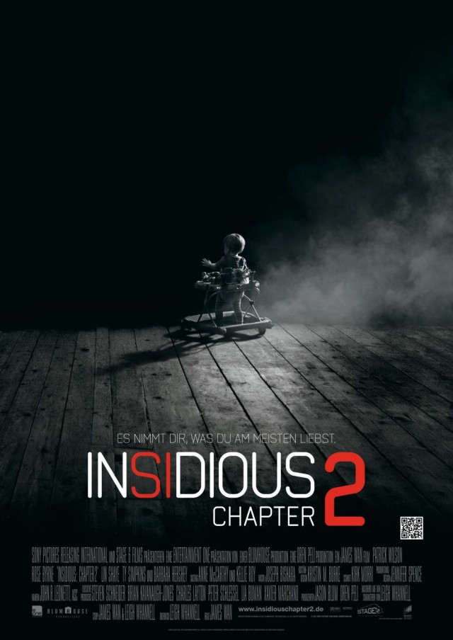 Insidious 2 - Deutsches Kinoplakat