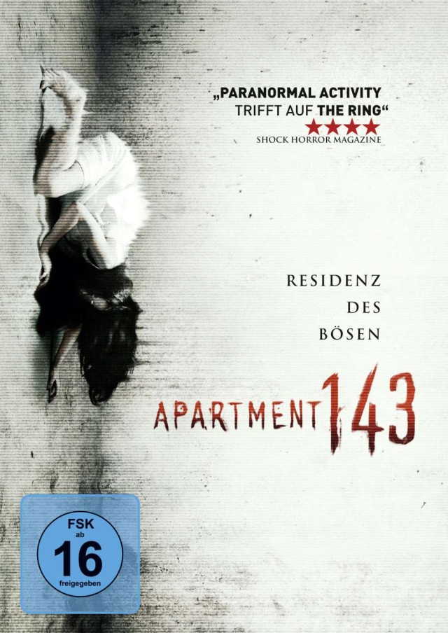 Apartment 143 - DVD Cover FSK 16