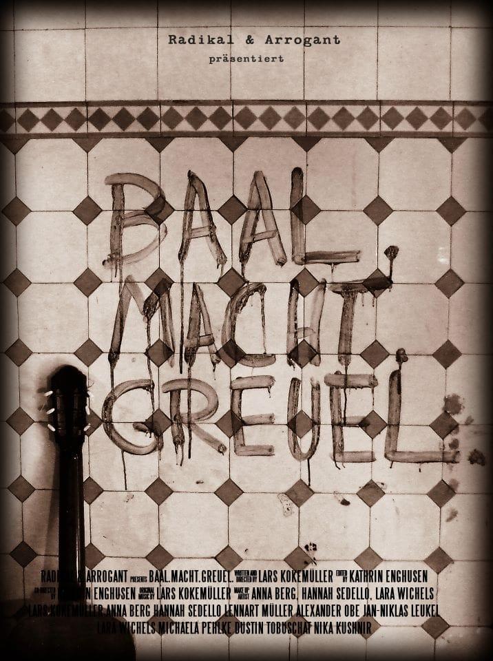 BAAL. MACHT. GREUEL. Cover