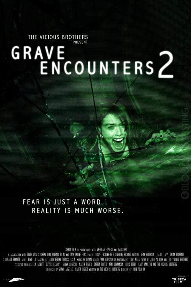 Grave Encounters 2 Teaser Poster 2
