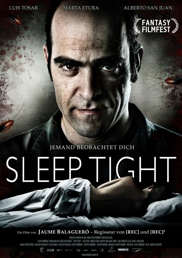 Sleep Tight - Deutsches Kinoplakat