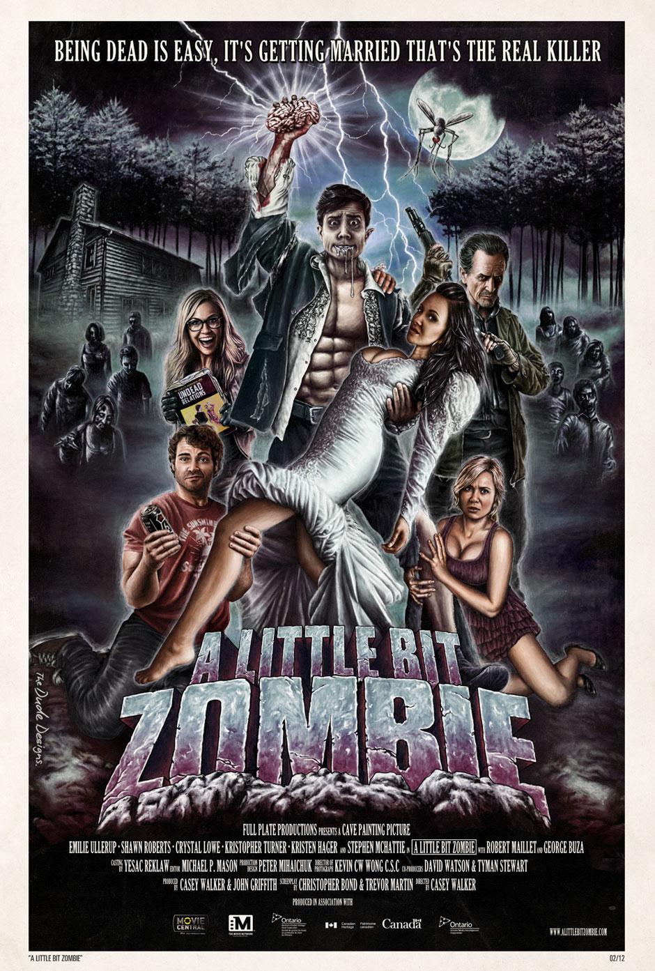 A Little Bit Zombie US Poster