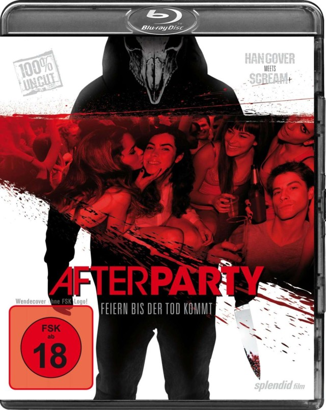 Afterparty - Feiern bis der Tod kommt - Blu-ray Cover