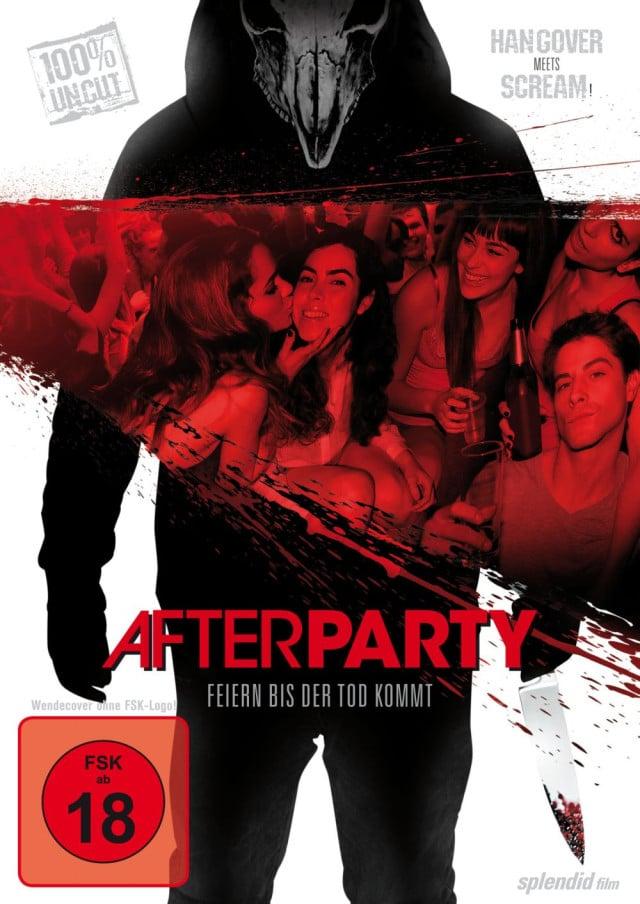 Afterparty - Feiern bis der Tod kommt - DVD Cover