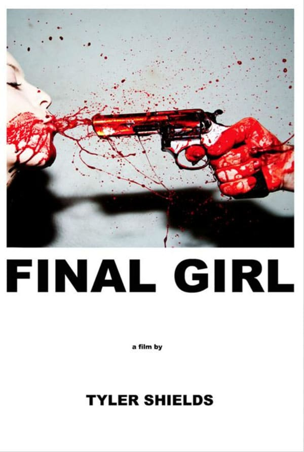 Final Girl Sales Art Poster