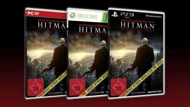 Hitman Sniper Challenge Cover von PC PS3 und XBOX