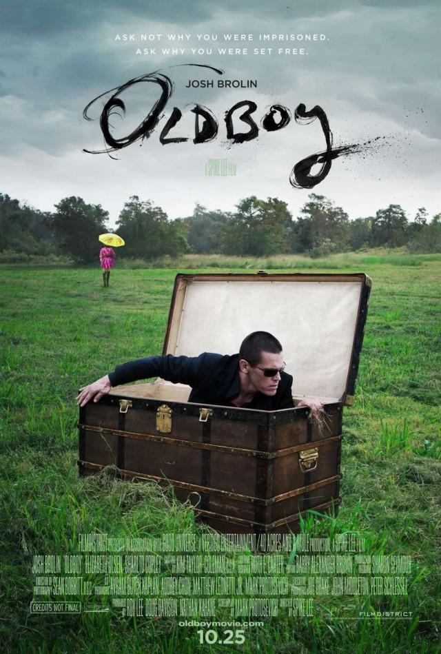 Oldboy Remake - Teaser Poster