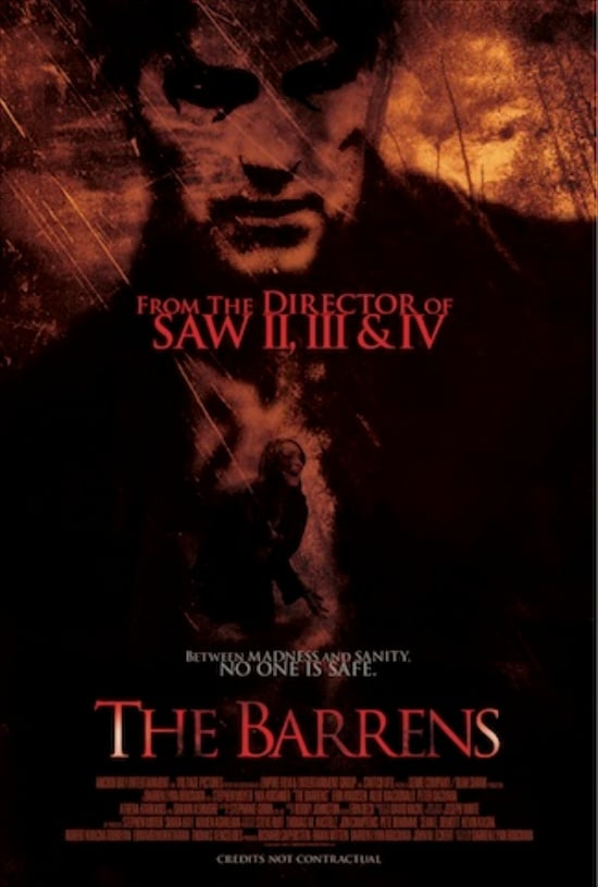 The Barrens US Kino Poster