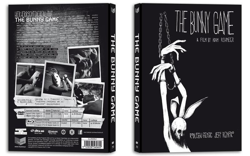 The Bunny Game Mediabook Vorne Hinten