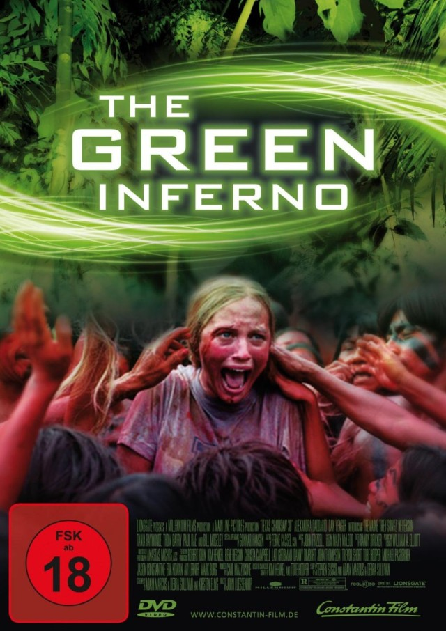 The Green Inferno - DVD Cover FSK 18
