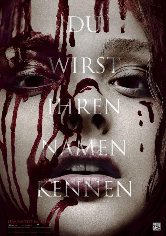 Carrie - Deutscher Kinostart - Teaserposter