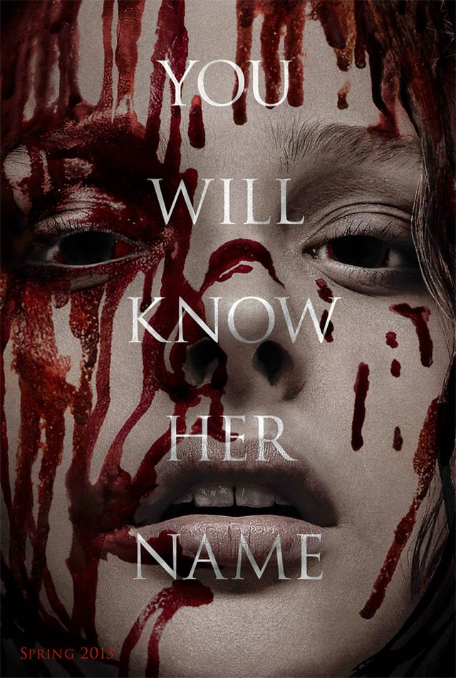 Carrie Remake International Poster