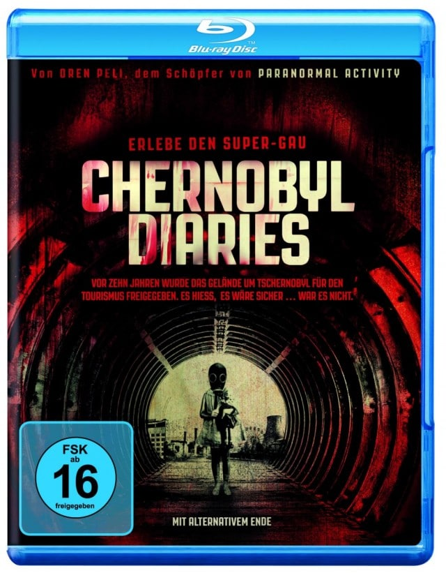Chernobyl Diaries – Erlebe den Super-Gau Blu-ray Cover FSK 16 Uncut