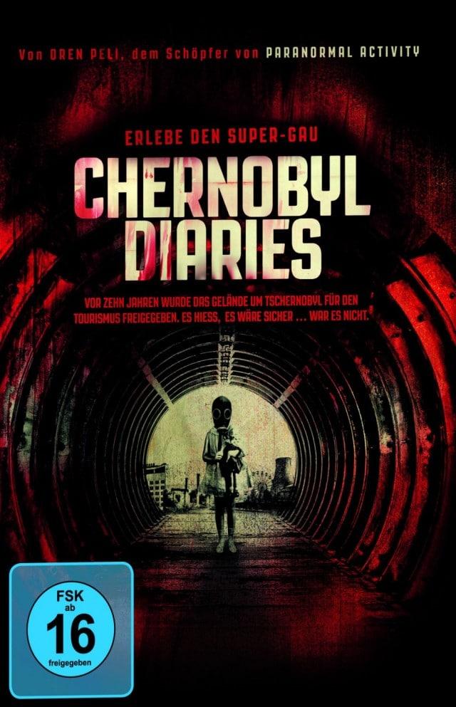 Chernobyl Diaries – Erlebe den Super-Gau DVD Cover FSK 16 Uncut