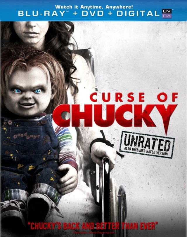 Curse of Chucky - US DVD und Blu-ray Cover