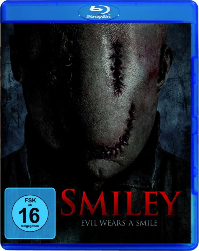 Smiley - Evil wears a Smile - Blu-ray Cover FSK 16