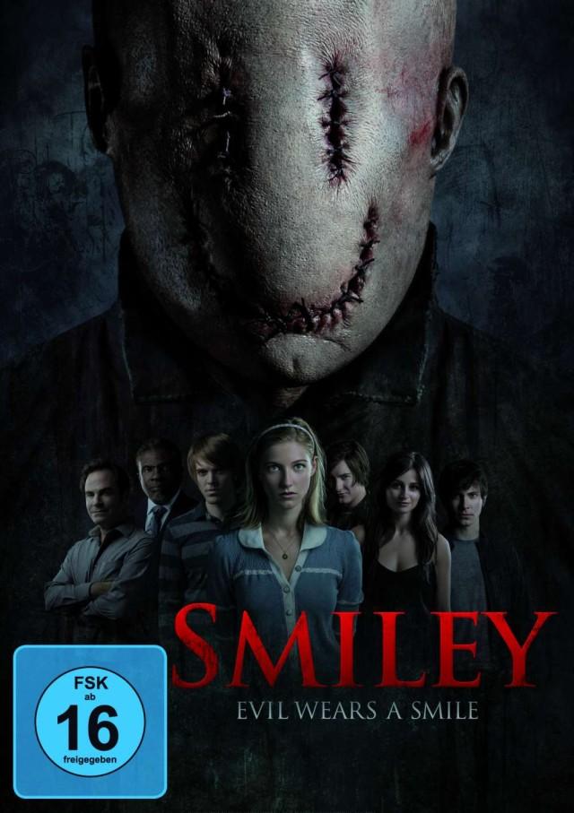 Smiley - Evil wears a Smile - DVD Cover FSK 16