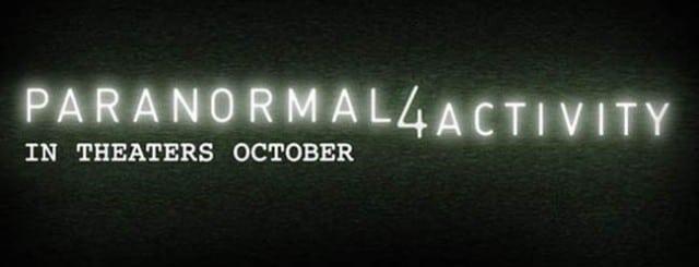 Paranormal Activity 4 Kinotrailer