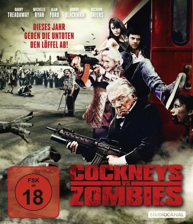 Cockney Vs Zombies Blu-Ray Cover