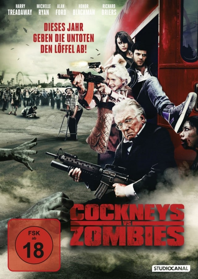 Cockney Vs Zombies DVD Cover